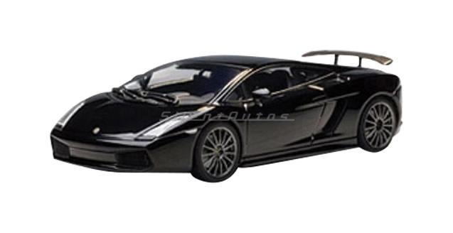 Lamborghini Gallardo Superleggera Black 1:43 AUTOart 54612