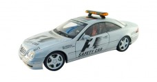 Mercedes CL55 AMG F1 Safety Car Silver 1:18 AUTOart 70128