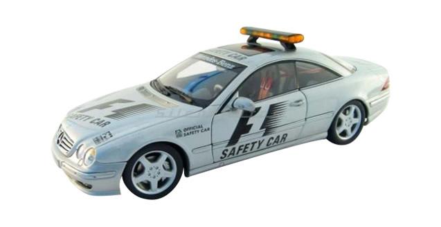 Mercedes CL55 AMG F1 Safety Car Silver 1:18 AUTOart 70128