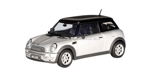 Autoart 54821 Bmw Mini Cooper Silver 1 43