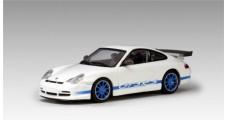 Porsche 911 GT3 RS White / Blue stripe 1:64 AUTOart 28032