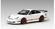 Porsche 911 GT3 RS White / Red stripe 1:64 AUTOart 28031