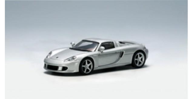 Porsche Carrera GT Silver 1:64 AUTOart 20631