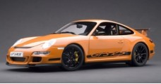 Porsche 997 GT3 RS Orange/Black 1:12 AUTOart 12117