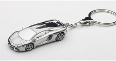 Lamborghini Aventador LP700-4 Keychain Chrome 1:87 AUTOart 41605