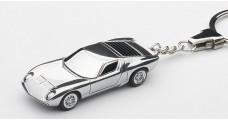 Lamborghini Miura SV Keychain Chrome 1:87 AUTOart 41609