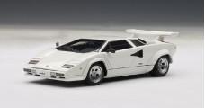 Lamborghini Countach 5000S White 1:43 AUTOart 54533