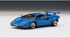 Lamborghini Countach 5000S Blue 1:43 AUTOart 54534