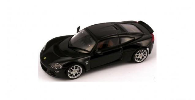 autoart 55357 lotus europa s black 1 43. Black Bedroom Furniture Sets. Home Design Ideas
