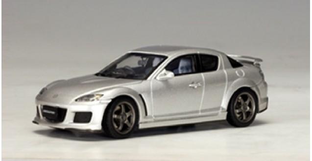 Mazda Rx 8 Silver 1:43  AUTOart 55931