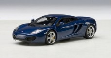 McLaren MP4-12C Blue 2011 1:43 AUTOart 56004
