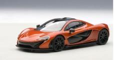 McLaren P1 Orange 2013 1:43 AUTOart 56012