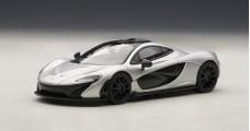 McLaren P1 Silver 2013 1:43 AUTOart 56013