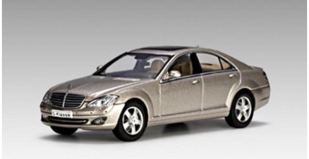 Autoart 56201 mercedes benz s500 swb silver 1 43 for Mercedes benz all models