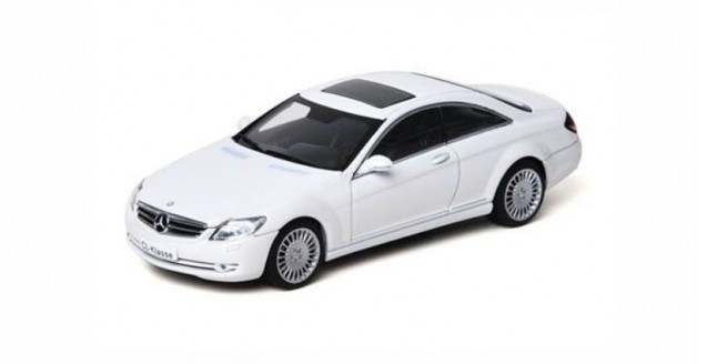 Mercedes CL Coupe White 2007 1:43 AUTOart 56243