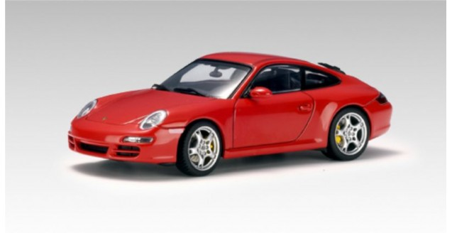 Porsche 911 Carrera S (997) Red 1:43 AUTOart 57881