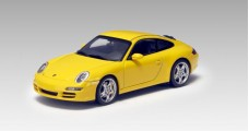 Porsche 911 Carrera S (997) Yellow 1:43 AUTOart 57882