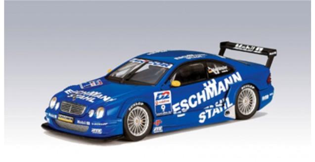 Mercedes Benz CLK DTM 2001 #10 Patrick Huisman Blue 1:43 AUTOart 60136