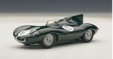 AUTOart 1/43 Jaguar D-Type Le Mans Winner 1955 Green 1:43 AUTOart 65586
