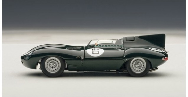 autoart 1 43 jaguar d type le mans winner 1955 green 1 43 autoart 65586. Black Bedroom Furniture Sets. Home Design Ideas