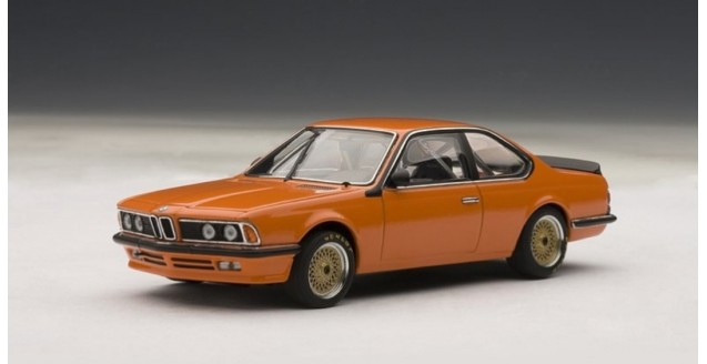 BMW 635CSi Plain Body version Orange 1:43 AUTOart 68448