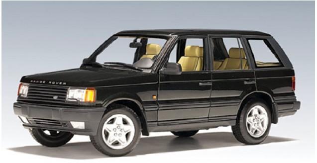 autoart 70011 land rover range rover green 1 18. Black Bedroom Furniture Sets. Home Design Ideas