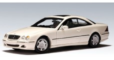 Mercedes CL 600 White 1:18 AUTOart 70113