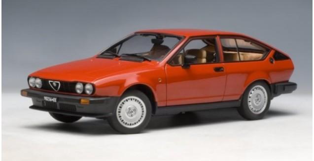 AUTOart Alfa Romeo Alfetta GTV Red - Alfa romeo scale models