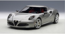 Alfa Romeo 4C Composite Model Grey 1:18  AUTOart 70187
