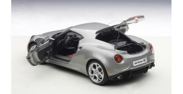 AUTOart Alfa Romeo C Composite Model Grey - Alfa romeo scale models
