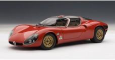 Alfa Romeo 33 Stradale Prototype Red 1:18  AUTOart 70191