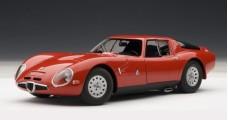 ALFA ROMEO TZ2 RED 1965 1:18 AUTOart 70198