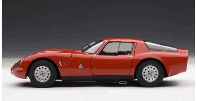 AUTOart ALFA ROMEO TZ RED - Alfa romeo scale models