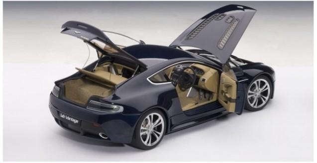 ... Aston Martin V12 Vantage Midnight Blue 1:18 AUTOart 70205 ...
