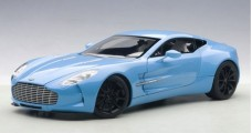 Aston Martin One-77 2009 Tiffany Blue 1:18 AUTOart 70240