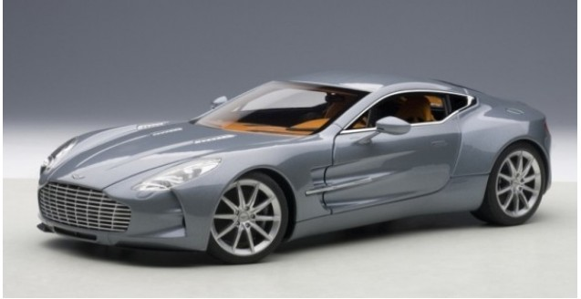 Aston Martin One 77 Blue 1:18 AUTOart 70243 ...