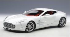 Aston Martin One-77 White 1:18 AUTOart 70244