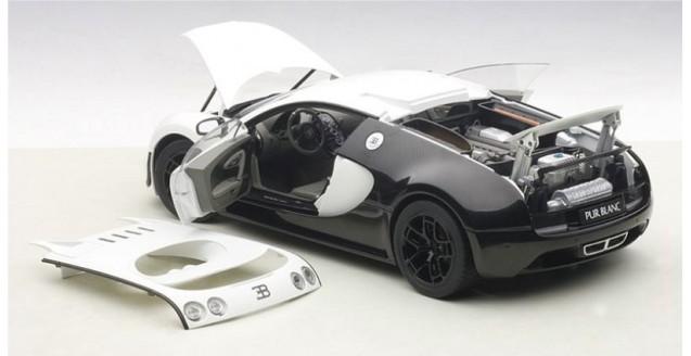Autoart 70933 Bugatti Veyron 16 4 Super Sport Pur Blanc
