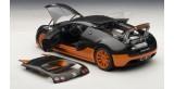 Bugatti Veyron 16.4 Sport black/orange 1:18 AUTOart 70936