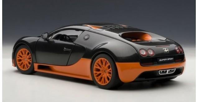 AUTOart 70936 Bugatti Veyron 16.4 Super Sport black/orange ...