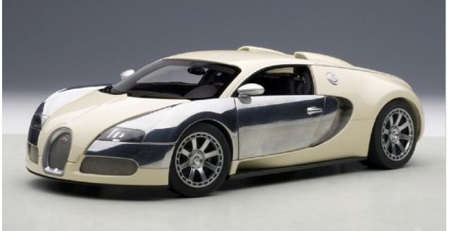 Autoart 70959 Bugatti Eb Veyron 16 4 White 1 18
