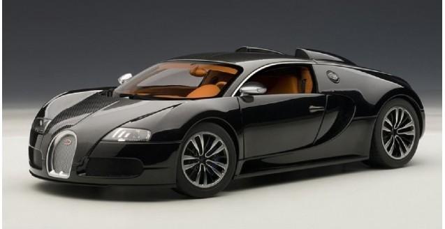 autoart 70961 bugatti eb 16.4 veyron sang noir black 1:18