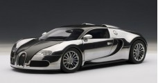 Bugatti EB Veyron Pur Sang Black/Chrome 1:18  AUTOart 70966