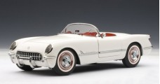 Chevrolet Corvette White 1953 1:18 AUTOart 71081