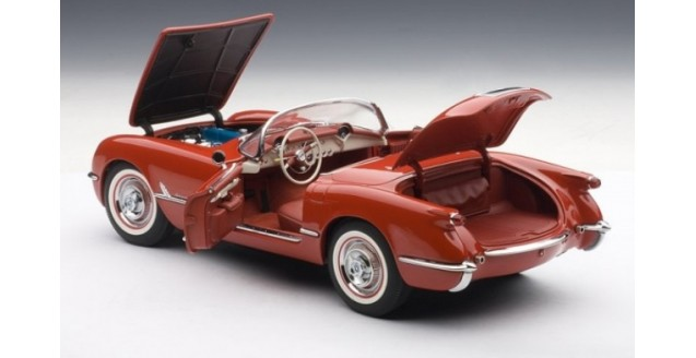 AUTOart Diecast 1954 Red Corvette