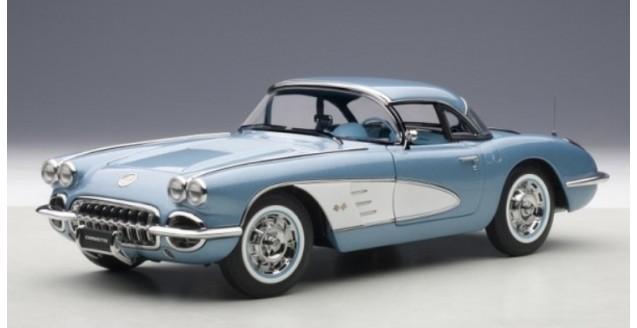 Autoart 71146 Chevrolet Corvette Blue 1958 1 18