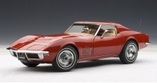 Chevrolet Corvette 1970 Red 1:18 AUTOart 71172
