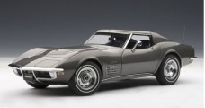 Chevrolet Corvette 1970 Grey 1:18 AUTOart 71173