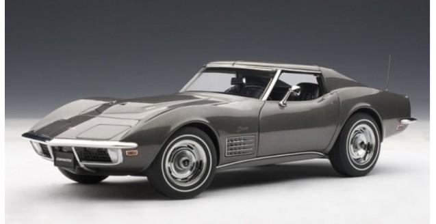 Chevrolet Corvette 1970 Grey 1:18 AUTOart 71173