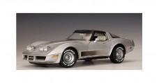 Chevrolet Corvette Silver 1982 1:18  AUTOart 71201